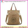 cheap tote plain canvas handbag/shoulder bag