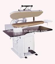 Professional ulitily steam pressing iron laundry machine