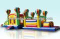 Parcours d'obstacles jeunesse, fabricant, gonflables à bas prix, commercial aire de jeux gonflables parcours d'obstacles pour les enfants( ot209)
