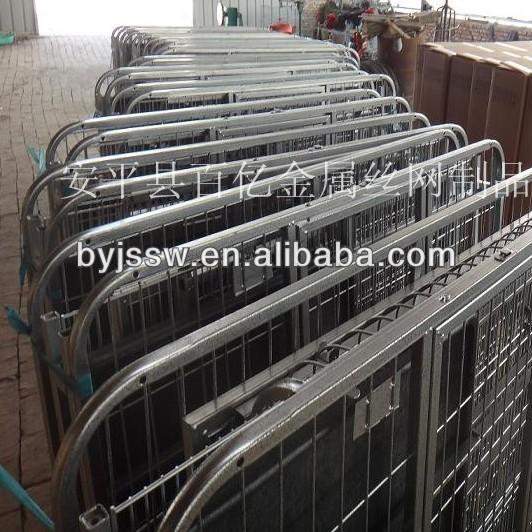 aluminum folding dog cage
