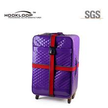 Luggage band with buckle