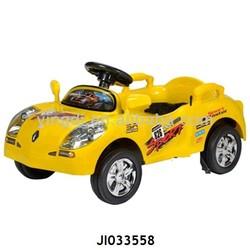 hot sale pedal car for children ride on plastic car 2 colors mix