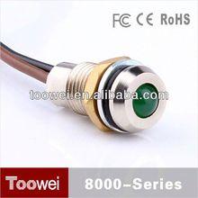 CE,IP67,RoHS metal led pilot