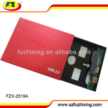 "Factory Hard Drive Case usb 2.0 TO 2.5""SATA HDD Enclosure Case 1TB"