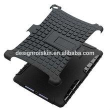 black hybrid case for iPad air 2 Heavy Duty rugged impact Kickstand case for iPad air 2