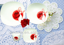 porcelain ceramic dinner set for wedding