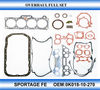 Complete repair gasket kit for KIA SPORTAGE2.0 FE engine