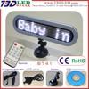 12v car led programmable digital message board|car led scrolling message sign