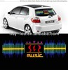 music rhythm lamp car accessories made in china