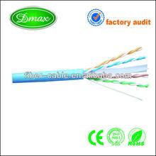 blue jacket cat6 cable lan
