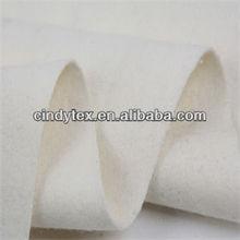 10s white drapery melton wool fabric