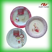 Company Logo Printed Paper Plates