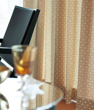 Sound absorption and odor elimination design curtains and drapes