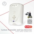 Combiné& de monoxyde de carbone détecteur d'alarme de gaz