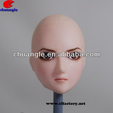 plastic doll heads crafts, vinyl doll faces