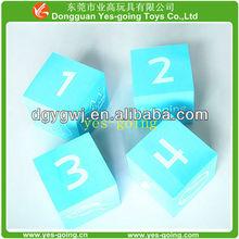 new eva foam cube dice