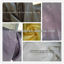 High quality 100 polyester 210t 190t printted taffeta lining