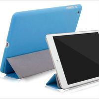 Folio stand style flip leather case Smart cover for Ipad mini 2