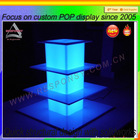 lighted acrylic cake stand LED display stand for cupcake