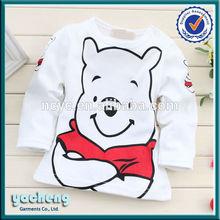 2014 new style fashional cotton china manufactory wholesale baby t-shirt