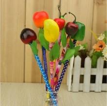 Wholesale Alibaba Lovely Fruit Vegetable Shape Ballpoint Pen