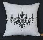 2013 new design felt applique cushion cover,sofa cover