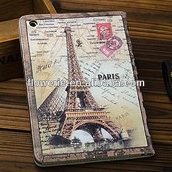FL2797 2013 Guangzhou hot selling western style retro flip leather case for ipad mini