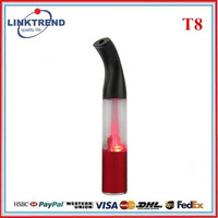 2013 Alibaba hot selling sax T8 vaporizer vs bdc colorful clearomizer