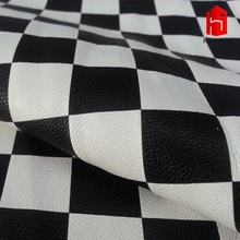 Black and white Checkerboard lady Bag/pu leather for bags