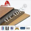 4mm yanlış ahşap paneller yıkanabilir/duvar panelleri/ACP levhalar