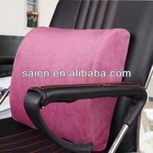 PU gel decor car seat lumbar cushion
