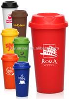 bulk plastic solid color coffee mugs with FDA LFGB standard