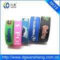 braccialetto in silicone per il natale