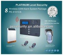 alarm system wireless solar siren
