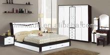 hot sale Melamine modern bedroom furniture
