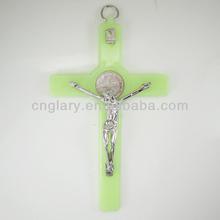 6 inch luminated wall crucifix cross