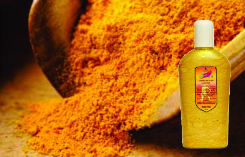 Gold Bleach Turmeric Natural Skin Lightening Cream