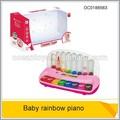 engraçado brinquedo musical de piano com luz e música instrumento de teclado de bebê de brinquedo