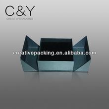 Design double open rigid paper perfume box