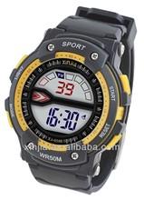 fashion sport wrist watch water resistant 50M, men digital watch
