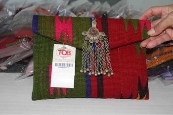 Kilim Bag - Women Clutch Bag - Crossbody Bag - Messenger Bag