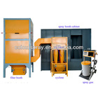 Manual Electrostatic powder spray system coating line