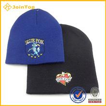 funny acrylic knit fashion men jacquard hat