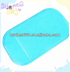 Best Soft Pu Sky blue Sticky non-Slip Mat For Car