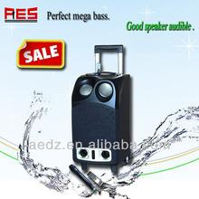 Fashion mp3 playerportable wireless outdoor soundbar factory direct selling wireless battery black wood speaker