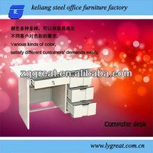 2013 hot sale metal executive office desk