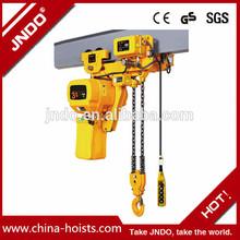 2 ton capacity 3m lifting low headroom hoist
