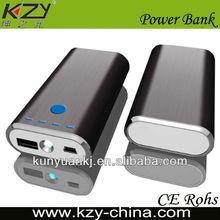 genuine manufacturer 4400mah led light golf mobile power bank