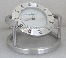 BYD800 new antiqued metal table clock
