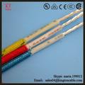 Colorido del pvc de cobre aislado/de aluminio sólido y trenzado cables